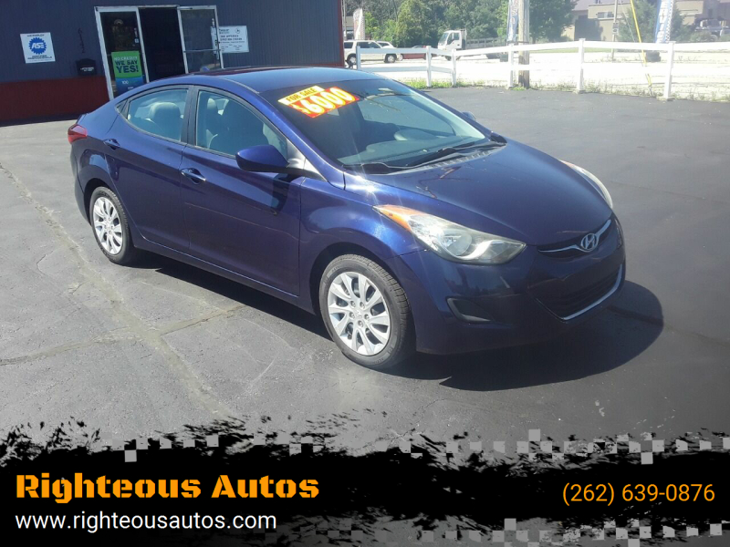 2011 Hyundai Elantra for sale at Righteous Autos in Racine WI