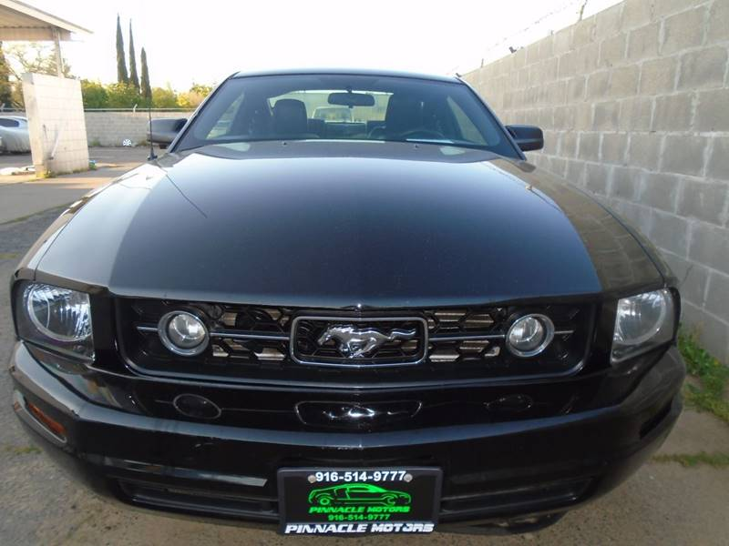 2008 Ford Mustang V6 Deluxe 2dr Coupe - Sacramento CA