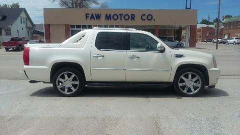 2012 Cadillac Escalade EXT for sale at Faw Motor Co in Cambridge NE