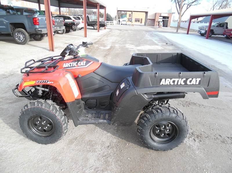 2016 Arctic Cat 700 TBX for sale at Faw Motor Co in Cambridge NE