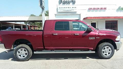 2017 RAM Ram Pickup 2500 for sale at Faw Motor Co in Cambridge NE