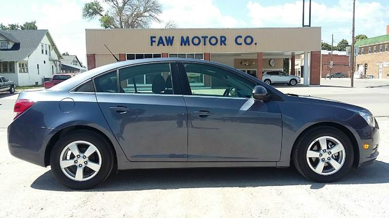 2014 Chevrolet Cruze for sale at Faw Motor Co in Cambridge NE