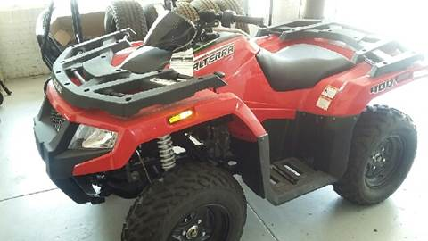 2017 Arctic Cat Alterra 400 for sale at Faw Motor Co in Cambridge NE
