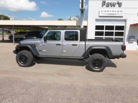2020 Jeep Gladiator for sale at Faw Motor Co - Faws Garage Inc. in Arapahoe NE