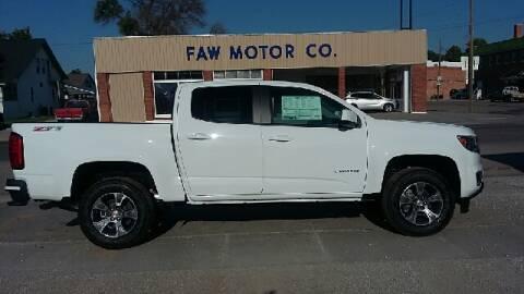 2018 Chevrolet Colorado Z71 for sale at Faw Motor Co - Faws Garage Inc. in Arapahoe NE