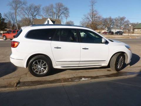 2017 Buick Enclave for sale at Faw Motor Co - Faws Garage Inc. in Arapahoe NE