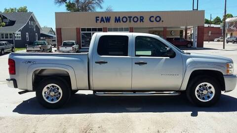 2010 Chevrolet Silverado 1500 for sale at Faw Motor Co in Cambridge NE