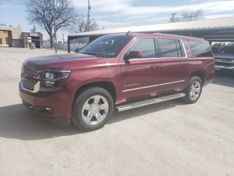 2017 Chevrolet Suburban for sale at Faw Motor Co in Cambridge NE