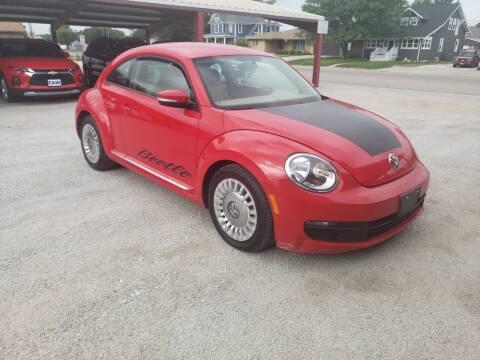 2013 Volkswagen Beetle for sale at Faw Motor Co in Cambridge NE