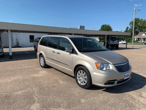 2012 Chrysler Town and Country for sale at Faw Motor Co in Cambridge NE