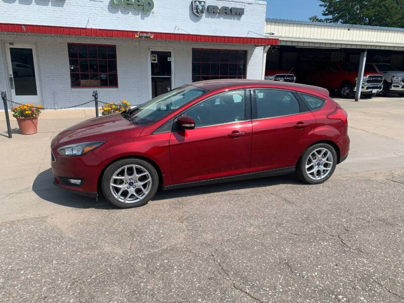 2015 Ford Focus for sale at Faw Motor Co in Cambridge NE
