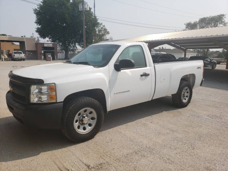 2013 Chevrolet Silverado 1500 for sale at Faw Motor Co in Cambridge NE
