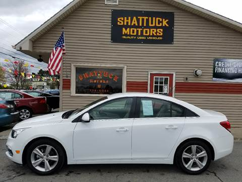 2016 Chevrolet Cruze Limited for sale in Newport, VT