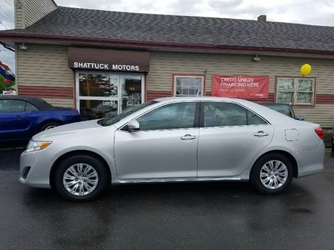 2013 Toyota Camry for sale in Newport, VT
