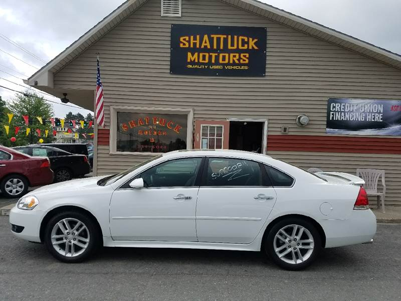 Superb 2012 Chevrolet Impala LTZ 4dr Sedan   Newport VT
