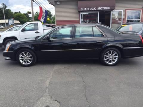 2011 Cadillac DTS for sale at Shattuck Motors in Newport VT