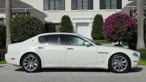 2008 Maserati Quattroporte for sale in Fort Lauderdale, FL