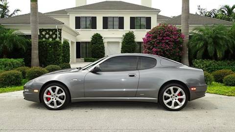 2005 Maserati Coupe for sale at Premier Luxury Cars in Oakland Park FL
