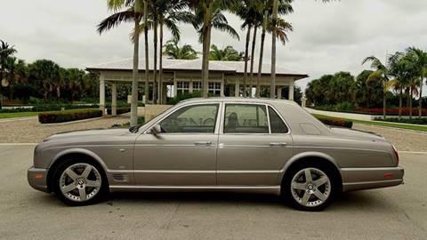 2005 Bentley Arnage for sale at Premier Luxury Cars in Oakland Park FL