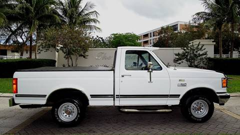 1991 Ford F-150 for sale at Premier Luxury Cars in Oakland Park FL