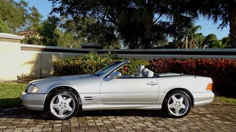 2002 Mercedes-Benz SL-Class for sale at Premier Luxury Cars in Oakland Park FL