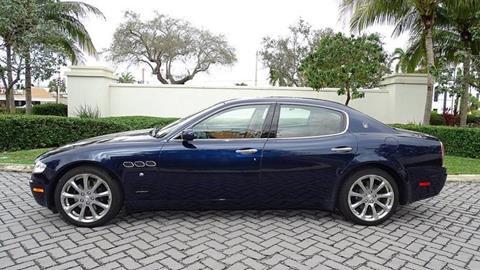 2008 Maserati Quattroporte for sale at Premier Luxury Cars in Oakland Park FL