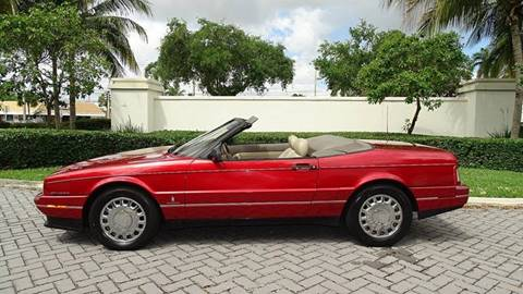 1993 Cadillac Allante for sale at Premier Luxury Cars in Oakland Park FL