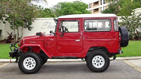 1977 Toyota Land Cruiser for sale at Premier Luxury Cars in Oakland Park FL
