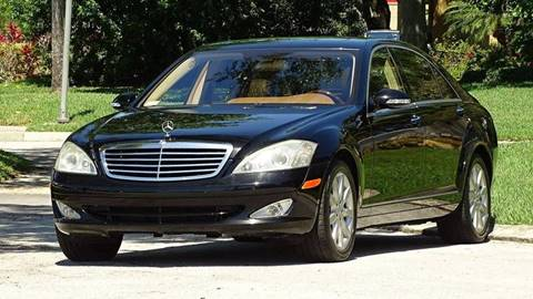 2007 Mercedes-Benz S-Class for sale at Premier Luxury Cars in Oakland Park FL