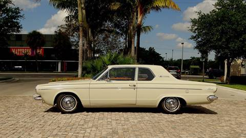 1963 Dodge Dart for sale at Premier Luxury Cars in Oakland Park FL