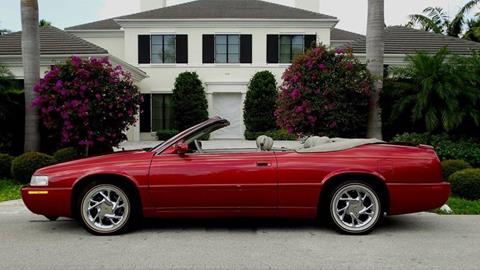 1998 Cadillac Eldorado for sale at Premier Luxury Cars in Oakland Park FL
