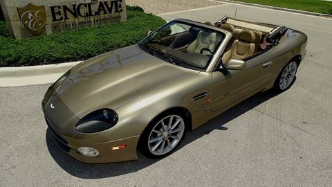 2002 Aston Martin DB7 for sale at Premier Luxury Cars in Oakland Park FL