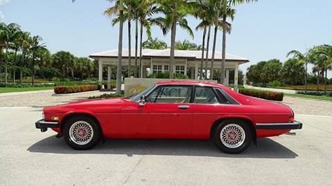 1989 Jaguar XJS for sale at Premier Luxury Cars in Oakland Park FL