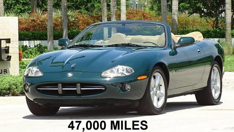 1997 Jaguar Xk-Series XK8 2dr Convertible In Oakland Park FL