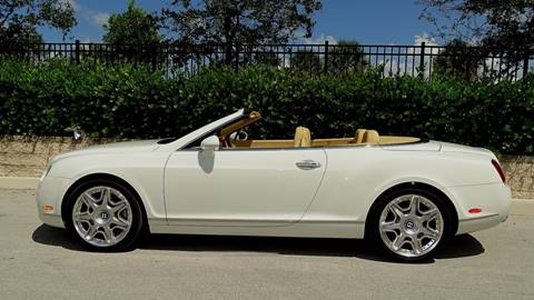 2009 Bentley Continental for sale at Premier Luxury Cars in Oakland Park FL
