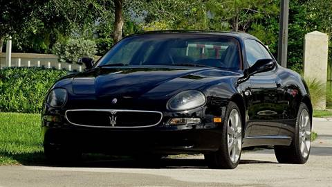 2004 Maserati Coupe for sale at Premier Luxury Cars in Oakland Park FL