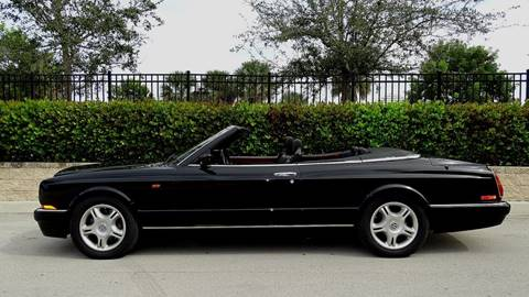2001 Bentley Azure for sale at Premier Luxury Cars in Oakland Park FL