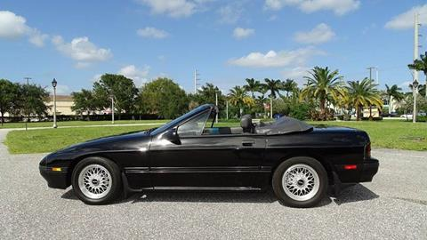 1988 Mazda RX-7 for sale at Premier Luxury Cars in Oakland Park FL
