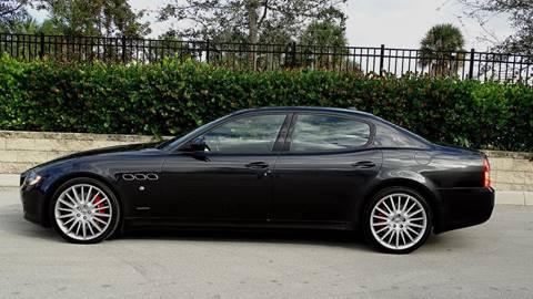 2013 Maserati Quattroporte for sale at Premier Luxury Cars in Oakland Park FL
