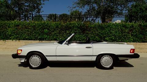 1988 Mercedes-Benz 560-Class for sale at Premier Luxury Cars in Oakland Park FL
