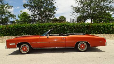 1976 Cadillac Eldorado for sale at Premier Luxury Cars in Oakland Park FL
