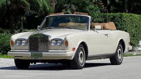 1989 Rolls-Royce Corniche for sale at Premier Luxury Cars in Oakland Park FL