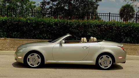 2002 Lexus SC 430 for sale at Premier Luxury Cars in Oakland Park FL