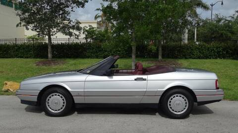 1988 Cadillac Allante for sale at Premier Luxury Cars in Oakland Park FL