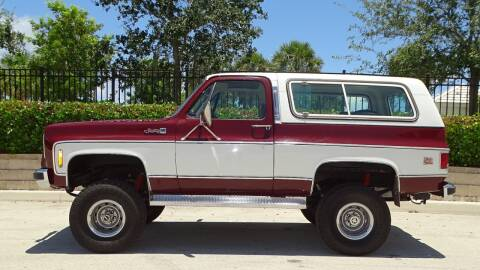 1978 GMC Jimmy for sale at Premier Luxury Cars in Oakland Park FL