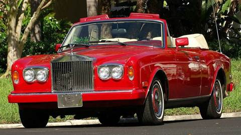 1990 Rolls-Royce Corniche for sale at Premier Luxury Cars in Oakland Park FL