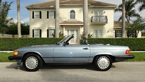 1986 Mercedes-Benz 560-Class for sale at Premier Luxury Cars in Oakland Park FL