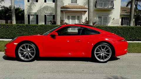 2013 Porsche 911 for sale at Premier Luxury Cars in Oakland Park FL