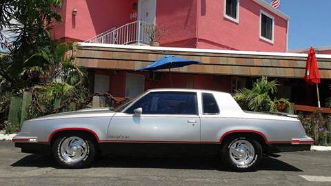 1984 Oldsmobile Cutlass Calais for sale at Premier Luxury Cars in Oakland Park FL
