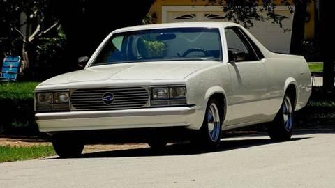 1986 Chevrolet El Camino for sale at Premier Luxury Cars in Oakland Park FL